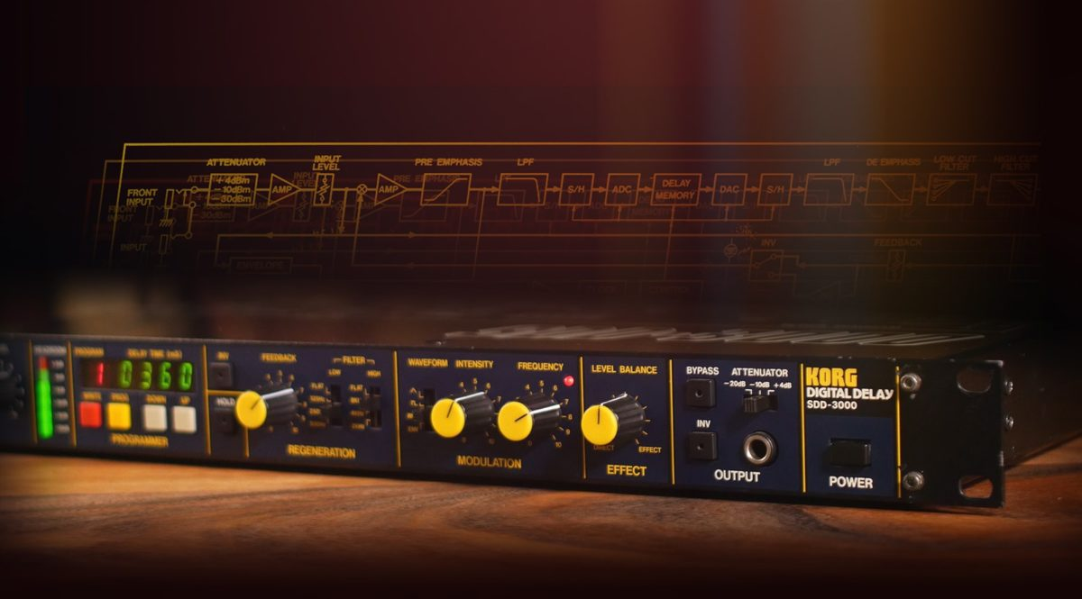 Universal Audio Korg SDD-3000