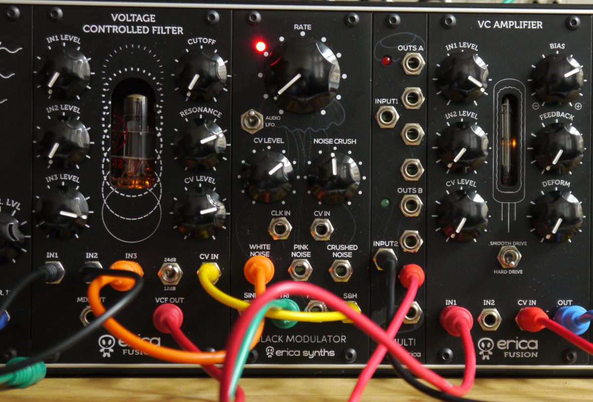 Erica Synth Fusion VCF, Modulator, VCA