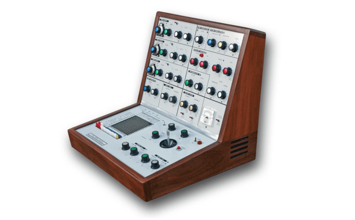 Der EMS VCS3 ist der wohl bekannteste, britische Synthesizer.