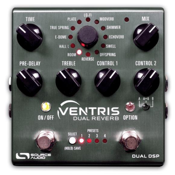 Source Audio Ventris Dual Reverb top