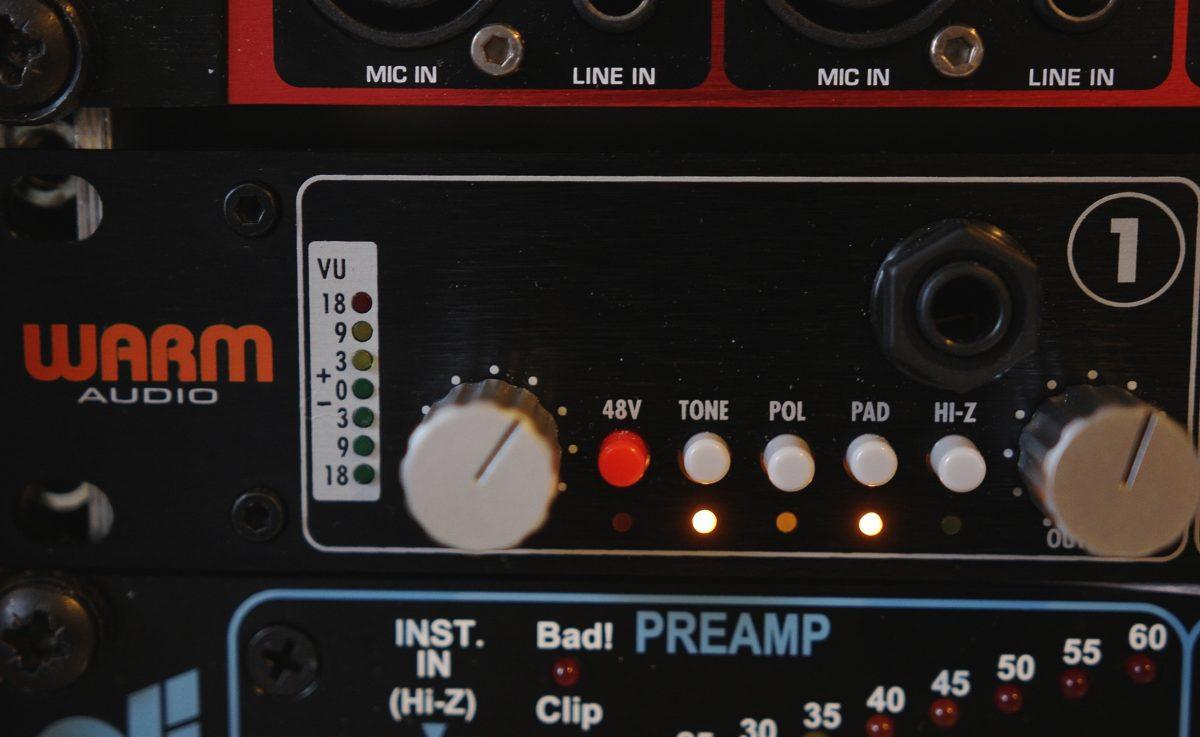 Warm Audio WA412 Settings