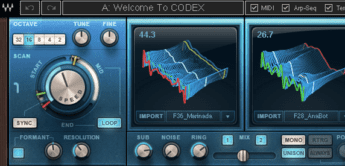 Test: Waves Codex, Software-Synthesizer