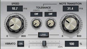 Die Parameter von Waves Tune Real-Time