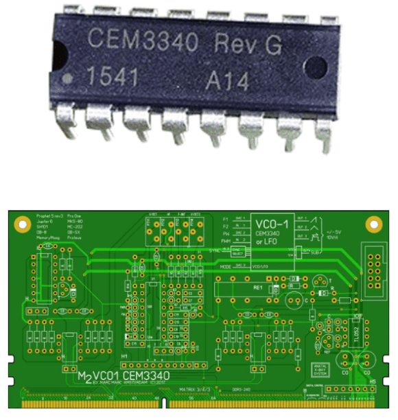 VCO auf der Basis eines CEM3340