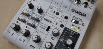 Test: Yamaha AG06, Mischpult
