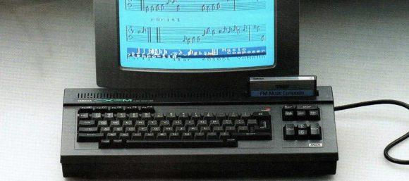 Yamaha CX5M Werbung