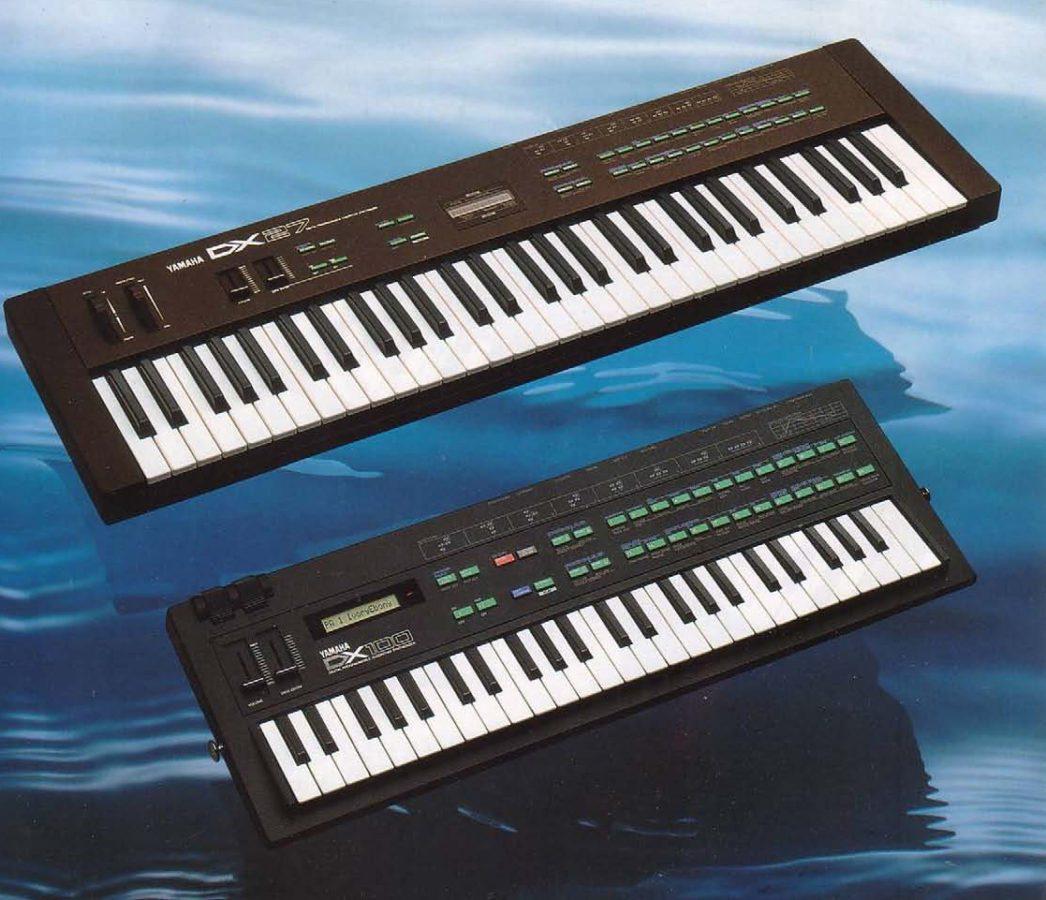 Yamaha DX27 DX100 Prospekt