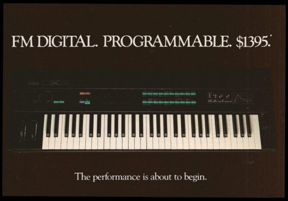 Yamaha DX9 Advertisement