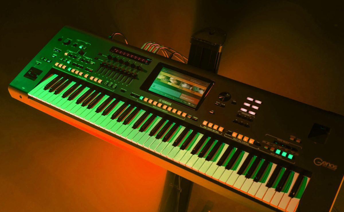 test yamaha genos arranger workstation synthesizer. Black Bedroom Furniture Sets. Home Design Ideas