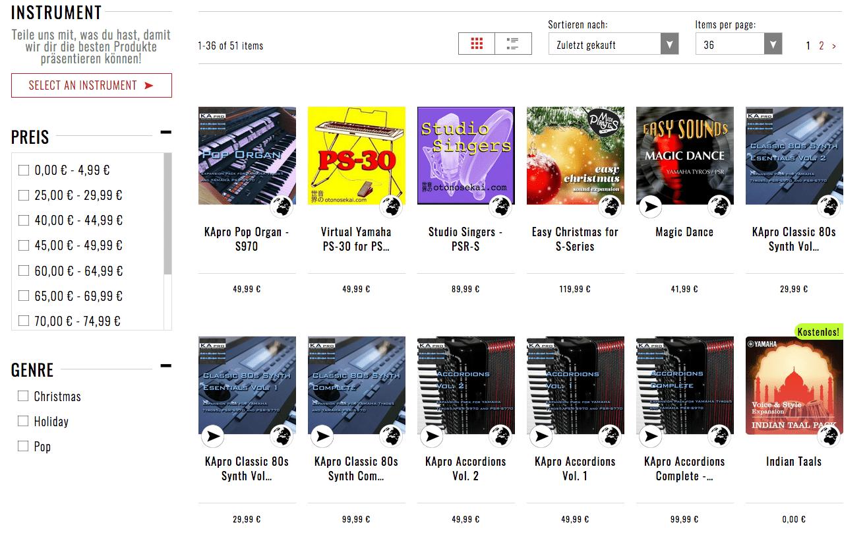 Test yamaha genos arranger workstation synthesizer for Yamaha expansion pack