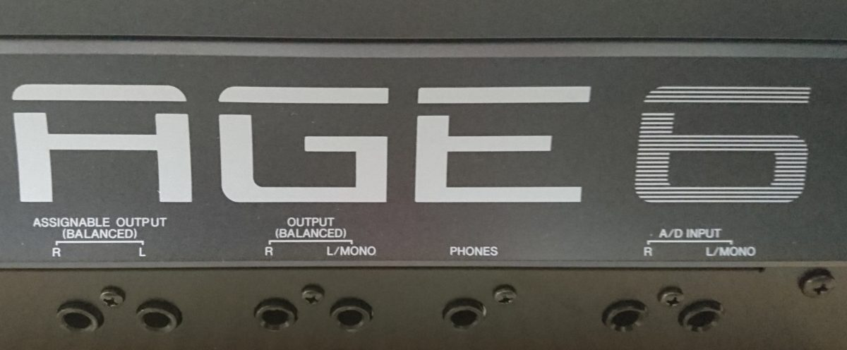 yamaha-montage-audio-connectors