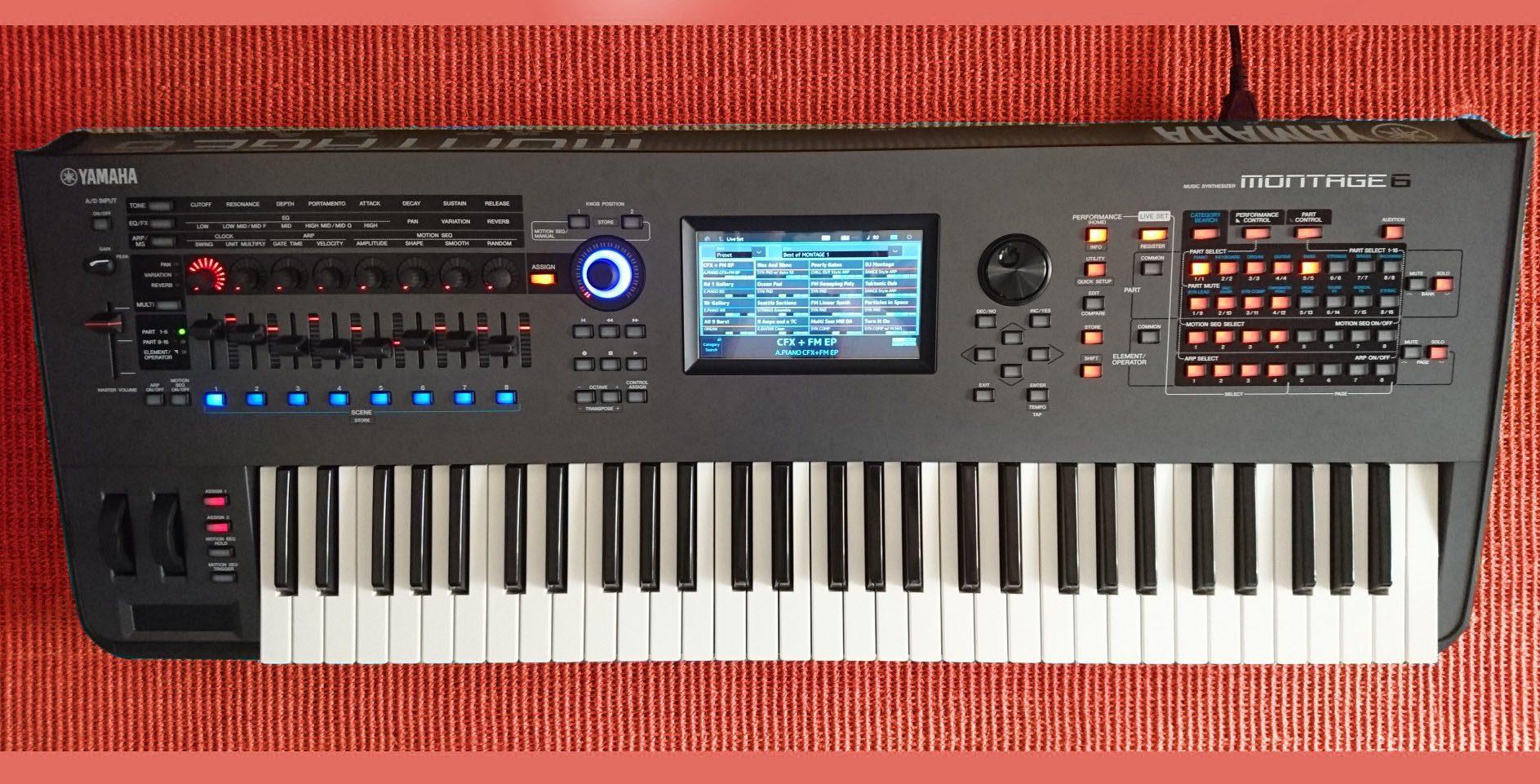 Workshop Yamaha Montage: Sounds mit AWM2 und FM-X - AMAZONA de