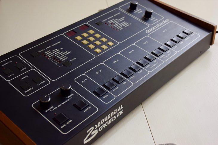 Die Instrumente sind Kanälen zugeordnet, die mit den entsprechenden Ausgängen der Drumtraks korrespondieren.