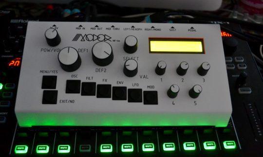 Test: MODOR NF-1m, Digital-Synthesizer