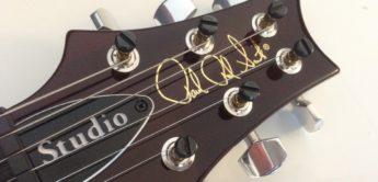 Test: PRS Studio 10 Top Black Gold Burst, E-Gitarre