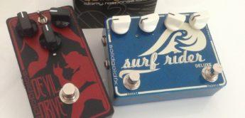 Test: Solid Gold FX Surf Rider DLX und Jeff Waters Devil Drive, Effektgeräte für E-Gitarre