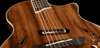 Test: Harley Benton Custom Line Nashville Magnet, Electroacoustic Gitarre