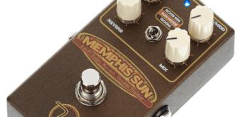 Test: Keeley Memphis Sun Echo & Reverb, Effektgerät für Gitarre