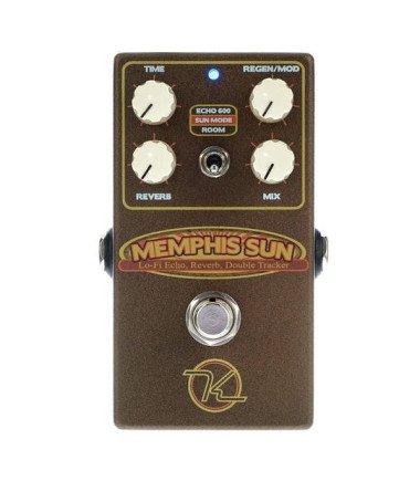 Keeley Memphis Sun Echo & Reverb Front