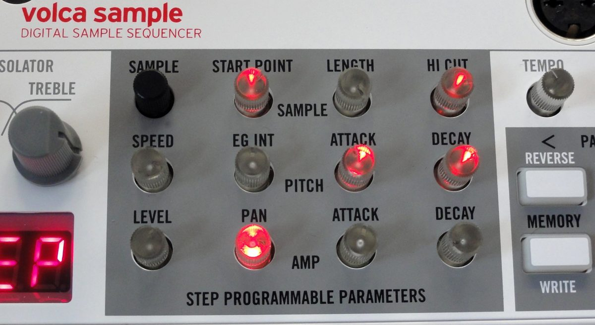 Volca sample knobs 1