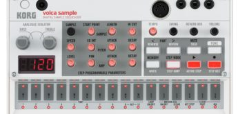Test: Korg Volcas Sample, Groovebox