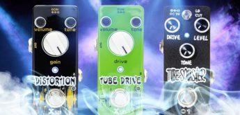 Vergleichstest: Xvive V7 Tube Drive, O1 Tube Squasher und V2 Distortion, Verzerrer für Gitarre