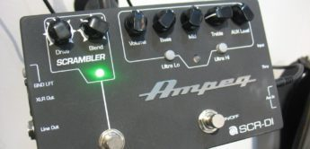 Test: Ampeg SCR-DI, Bass DI-Box mit Overdrive