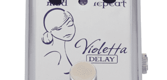 Test: Red Witch Violetta Delay, Effektpedal für Gitarre