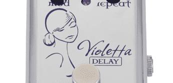 Test: Red Witch Violetta Delay, Effektpedal für Gitarre