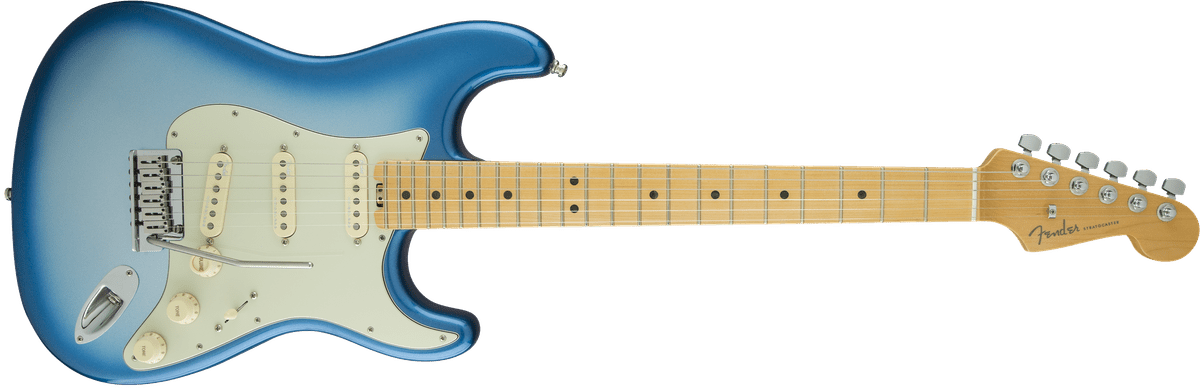 Test: Fender American Elite Stratocaster Mn Sky Burst Metallic, E ...