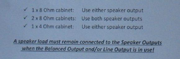 Orange Speaker Info