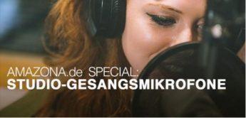 Kaufberatung: Die besten Studio-Gesangsmikrofone für Einsteiger bis 300,- Euro