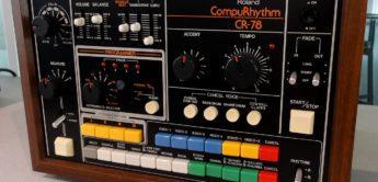 Behringer plant eine CR-78 Drummachine = RD-78?