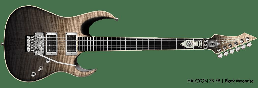 Test: Diamond Guitars Halcyon ZB FR BKF, E-Gitarre - AMAZONA.de