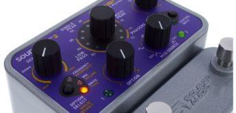 Test: Source Audio Soundblox 2 Manta Bass Filter, E-Bass Effektgerät