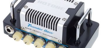 Test: HoTone Nano Legacy Thunder Bass, Bassverstärker