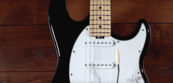 Test: Music Man Cutlass BK, E-Gitarre