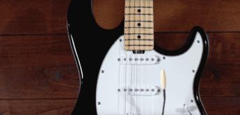 Test: Music Man Cutlass BK, E-Gitarre