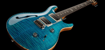 Test: PRS Custom 24 Semi-Hollow Aqua, E-Gitarre