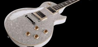 Test: Harley Benton L-600 Pearloid, E-Gitarre