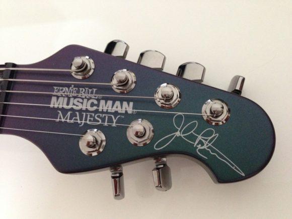 Music Man John Petrucci Majesty 6 Headstock