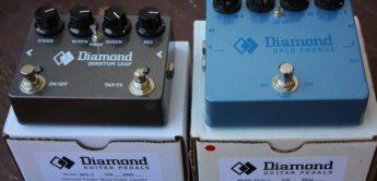 Test: Diamond Quantum Leap & Diamond Halo Chorus, Effektpedale für Gitarre
