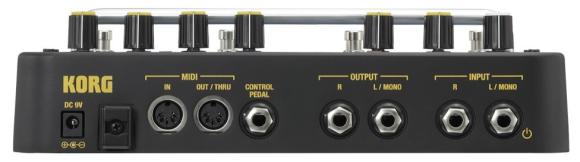 Korg SDD-3000 Pedal Stirn
