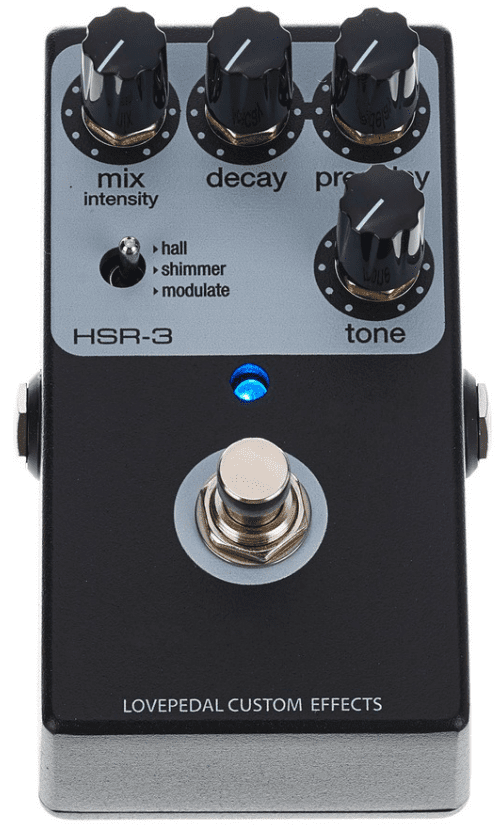 Lovepedal HSR-3 Multi Reverb Top