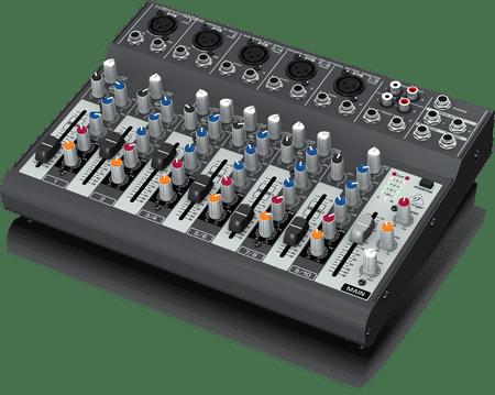 Behringer XENYX 1002B battery powered mixer