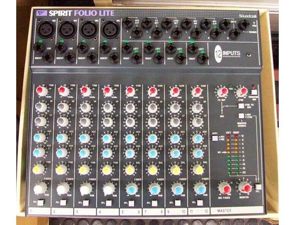 Soundcraft Folio Lite + ADAM F5