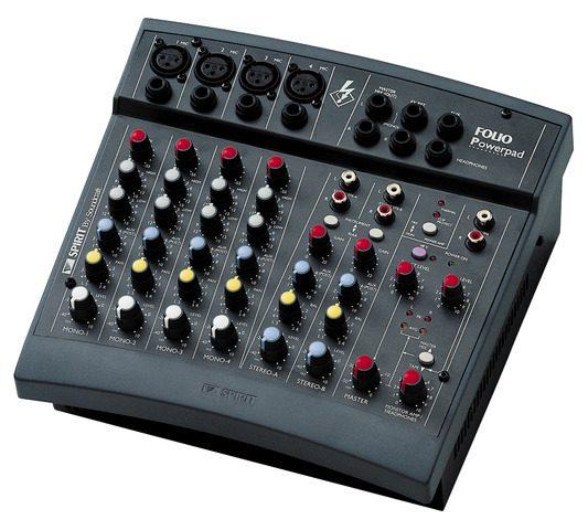 Soundcraft Spirit Folio Powerpad + JBL Control 1 + JBL Control SUB6