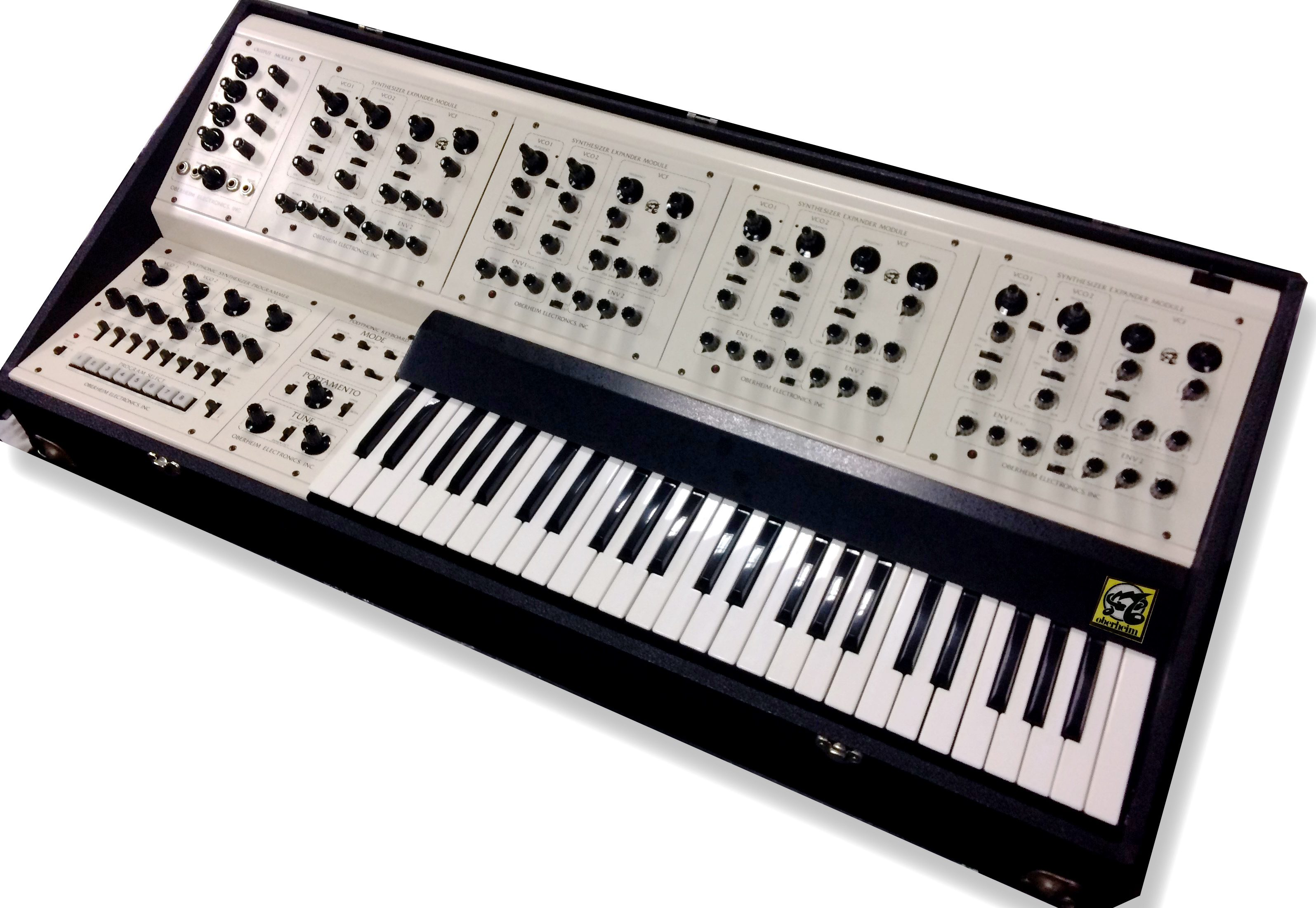 Oberheim 4 Voice; COTK Model 15;