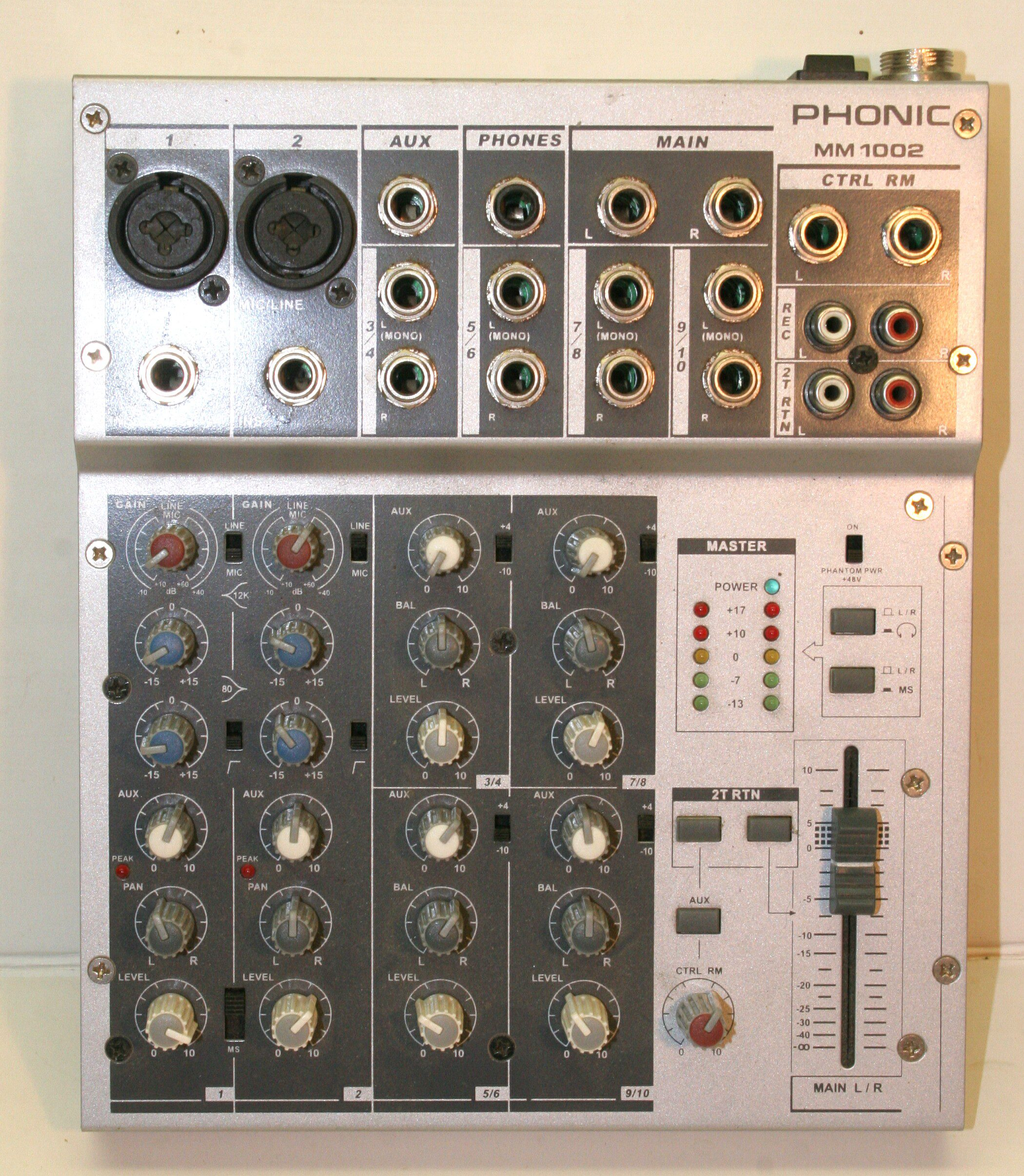 (Mixer) Phonic MM1002