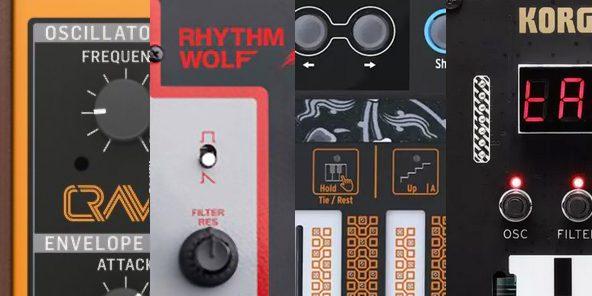 Behringer Crave | Akai Rhythm Wolf |Arturia MicroFreak | Korg NTS-1